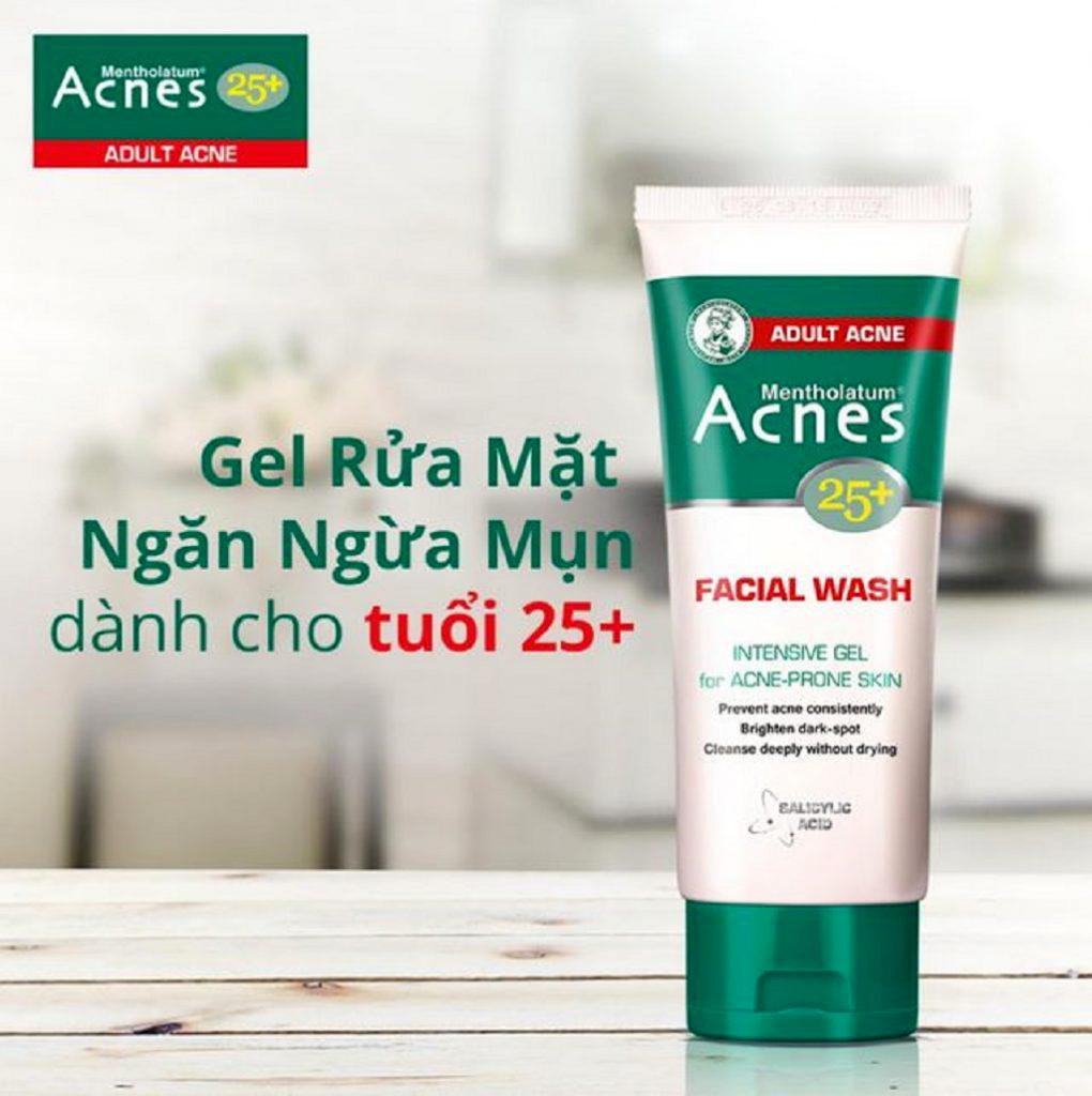 ACNES, Gel Rửa Mặt Ngăn Ngừa Mụn Acnes 25+ 100g | Watsons Vietnam