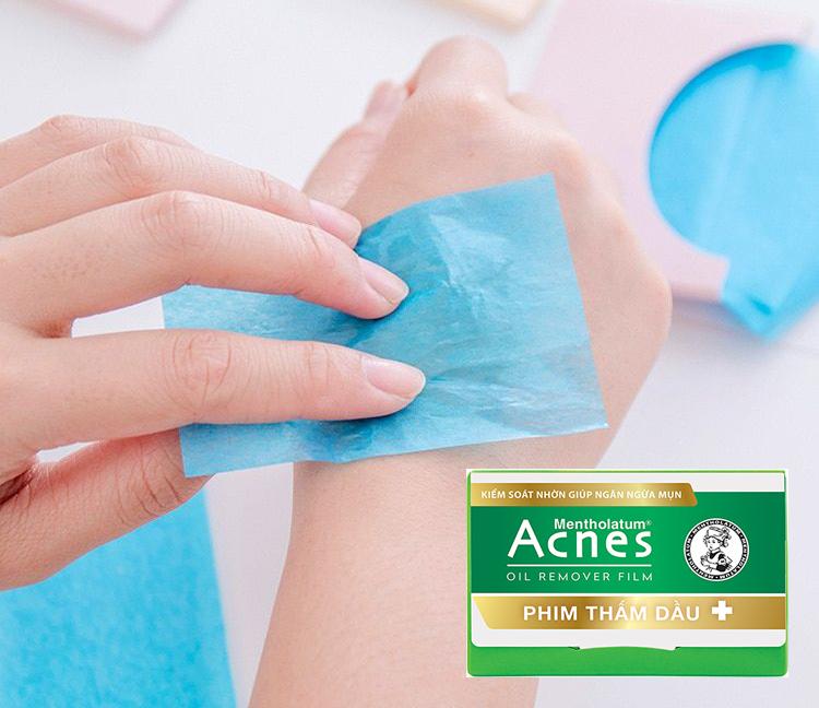 ACNES, Phim Thấm Dầu Acnes 50 tờ | Watsons Vietnam