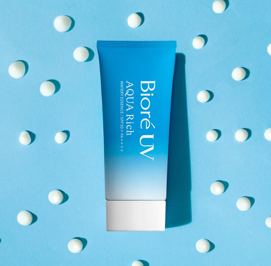 BIORE, Tinh Chất Chống Nắng Biore UV Aqua Rich Watery Essence SPF50+/PA++++  Màng Nước Dưỡng Da 50g | Watsons Vietnam