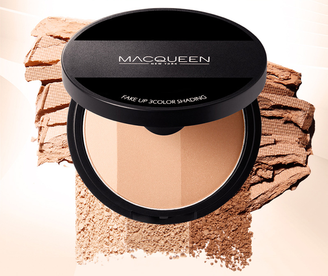 mua Macqueen Fake Up 3 Color Shading