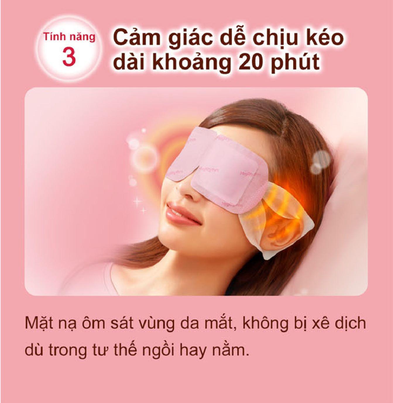 MEGRHYTHM, Mặt Nạ Xông Hơi Mắt MegRhythm Không Hương 5 Miếng/Hộp   Watsons  Vietnam