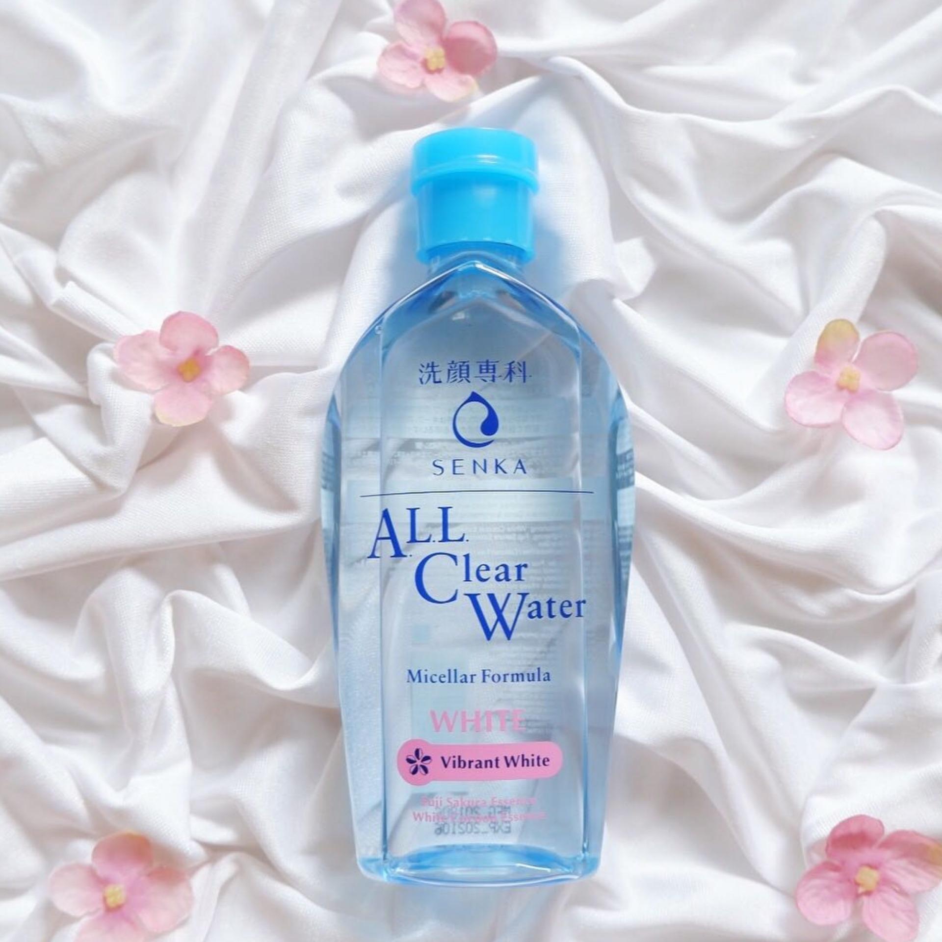 SENKA, Nước Tẩy Trang Senka Micellar Dưỡng Trắng All Clear Water ...