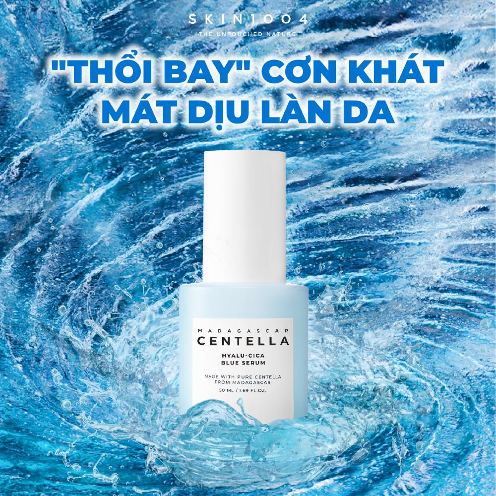 Skin1004 Madagascar Centella Hyalu-Cica Blue Serum