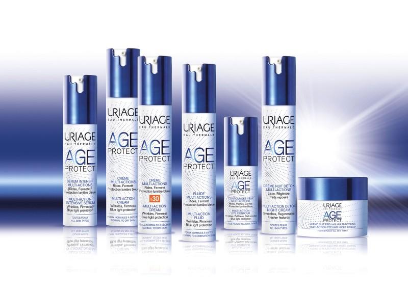 Kết quả hình ảnh cho serum ngăn ngừa lão hóa Age Protect Serum Intensif Multi -Act 30ml Uriage