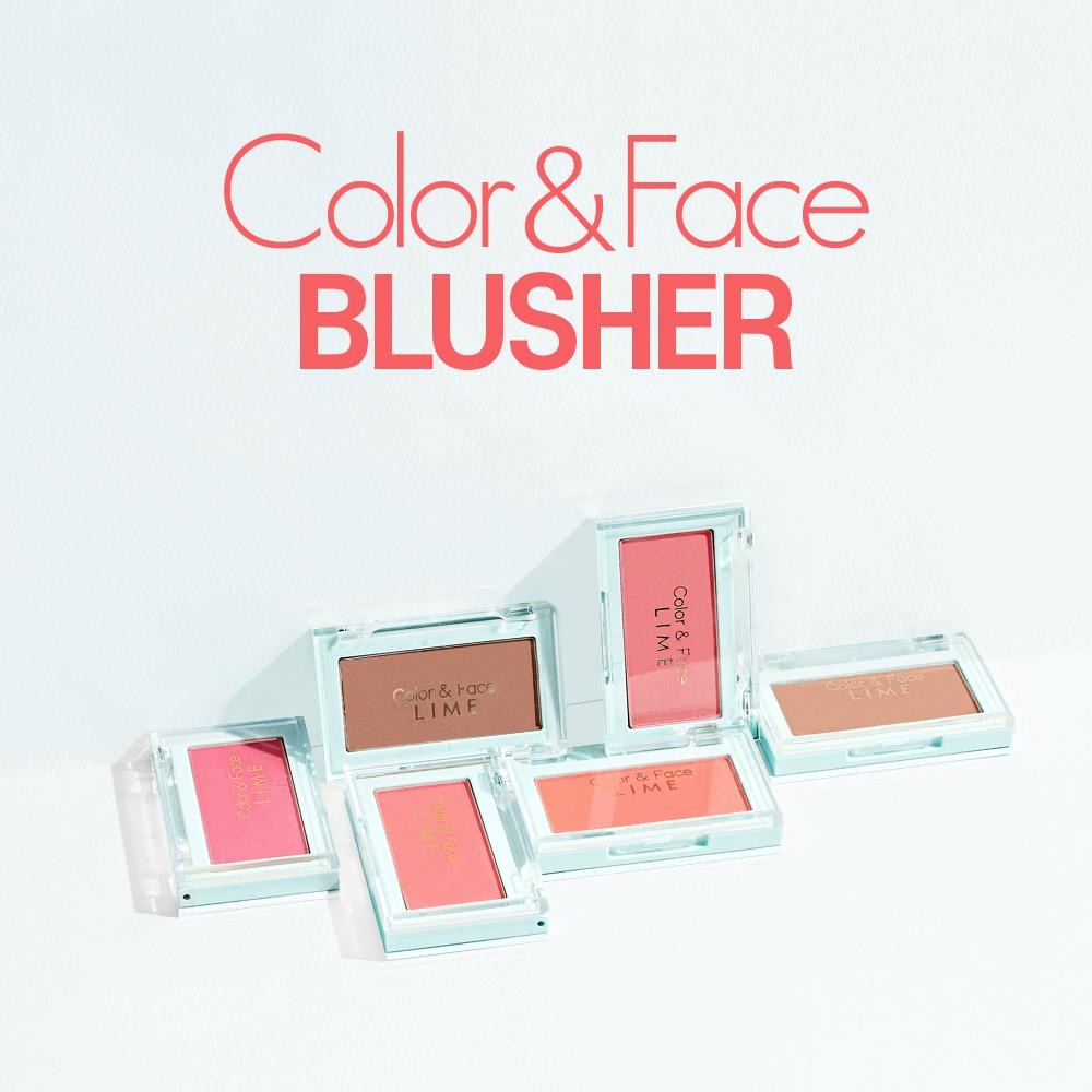 LIME, Phấn Má Hồng Lime Color & Face Single Blusher 4.5g .#04 BubbleGum |  Watsons Vietnam