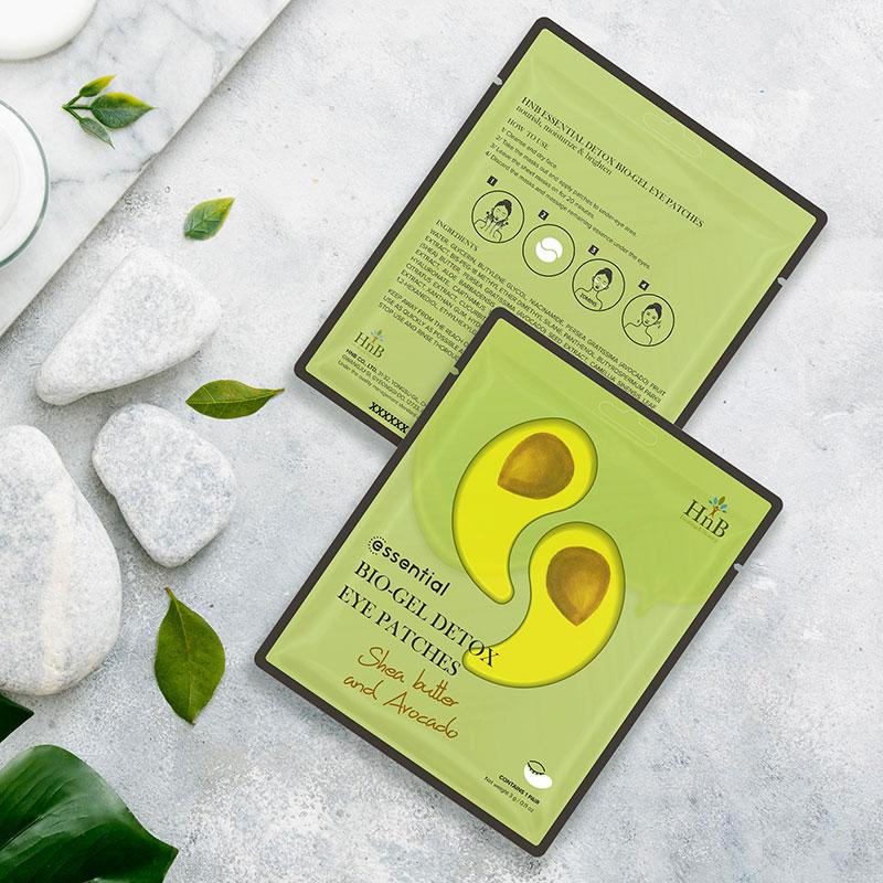 HNB, Mặt Nạ Dưỡng Da Vùng Mắt HnB Essential Bio-Gel Detox Eye Patches Shea  Butter And Avocado Cấp Ẩm 3g   Watsons Vietnam